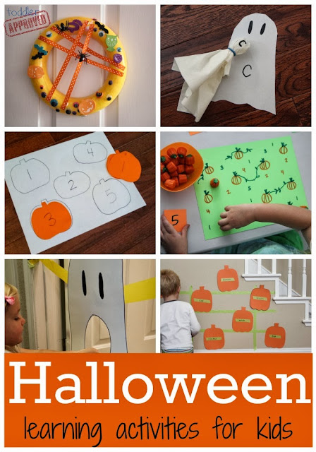 Toddler Approved H Is For Halloween Learning Activities