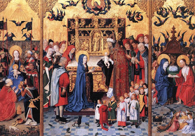 Altarpiece of the Seven Joys, by the Master of the Holy Family, c. 1480.