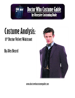 11th Doctor velvet waistcoat analysis