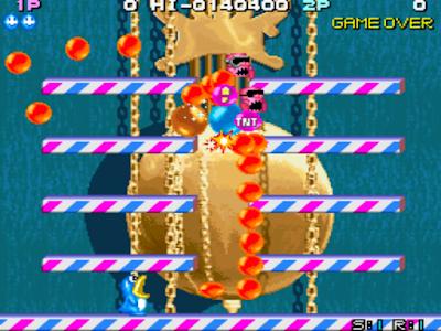 街機:終極打氣球(Ultra Balloon)+作弊Cheat碼,類似泡泡龍的動作過關遊戲!
