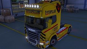 Scania CAT V8 skin