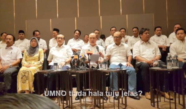 UMNO tiada hala tuju jelas?
