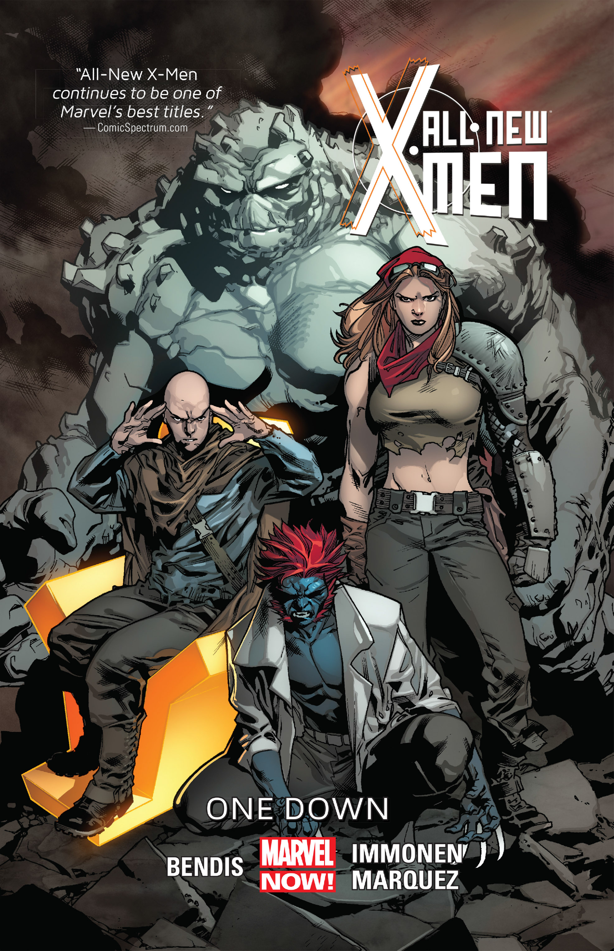 Read online All-New X-Men (2013) comic -  Issue # _Special - One Down - 1