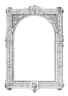 frame border image clipart antique design crafting image