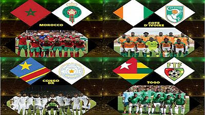 football games thursday 20/01/2017 Ivory Coast   vs Congo, The Democratic Republic Of The مبارات ساحل العاج الكوتديفوار - مع الكزنغو الديمقراطية