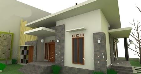 desain rumah minimalis atap dak