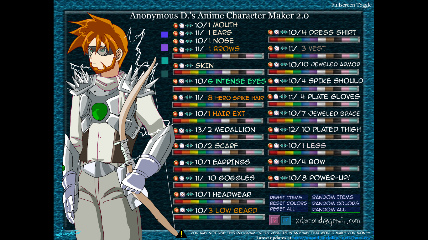 Anime full body maker