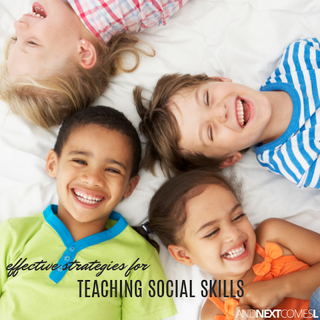 How to teach social skills to students with autism