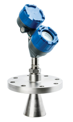 non-contact radar level transmitter for industrial process measurement and control