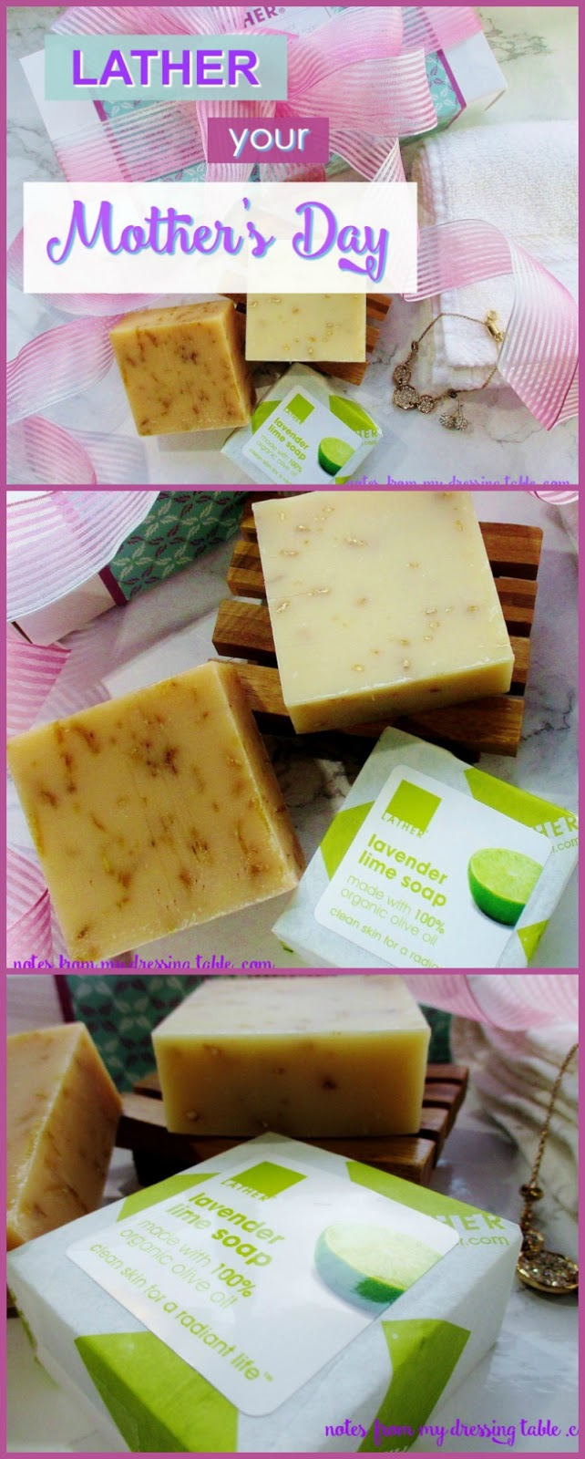 LATHER Your Mother's Day Natural LATHER Soaps