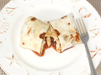 Breakfast Black Bean Burritos Recipe