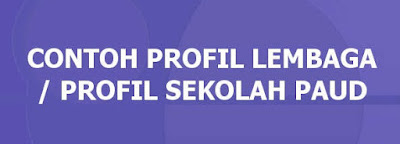 Contoh Proposal Pendirian PAUD/TK/KB/TPA 2016
