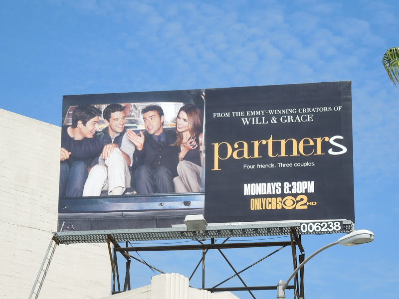 Partners TV sitcom billboard