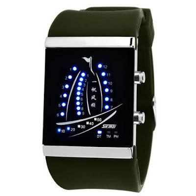 Спортивные часы с яхтенным дизайном