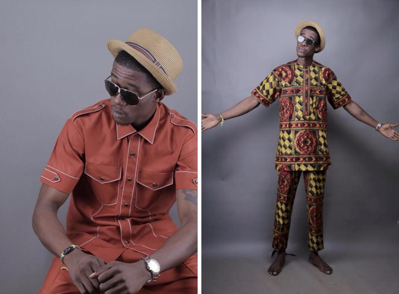 African Buba style men shirt