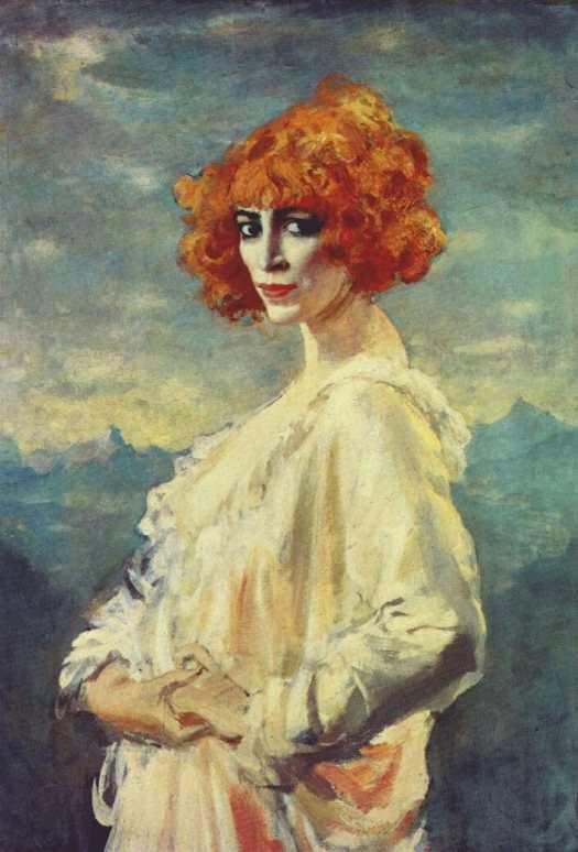 Portrait of Luisa Casati by Augustus John