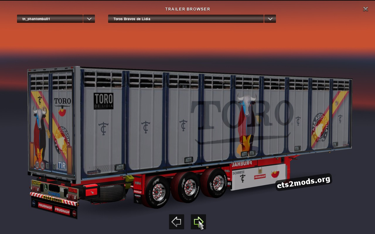 Trailer Pack Bravo Bulls and Rejoneo Horses V.1.0