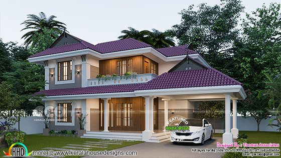 Outstanding home plan with 4 bedrooms, 2000 sq-ft
