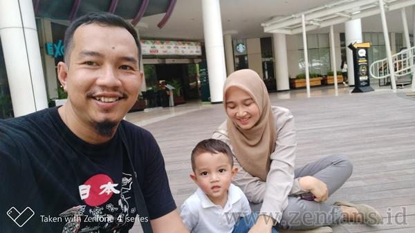 Zenfone 4 Selfie dengan selfie kamera
