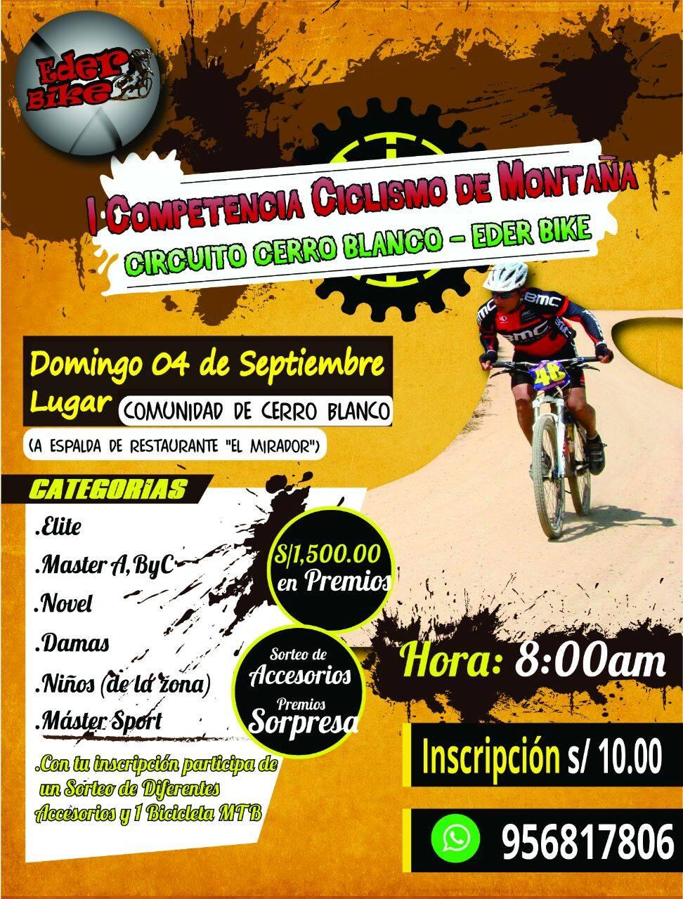 Circuito Xc : I competencia de ciclismo xc circuito cerro blanco club de
