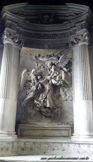 sao pedro montorio capela bernini extase sao francisco - São Pedro em Montorio