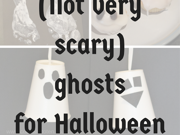 (Not very scary) ghosts for Halloween fun