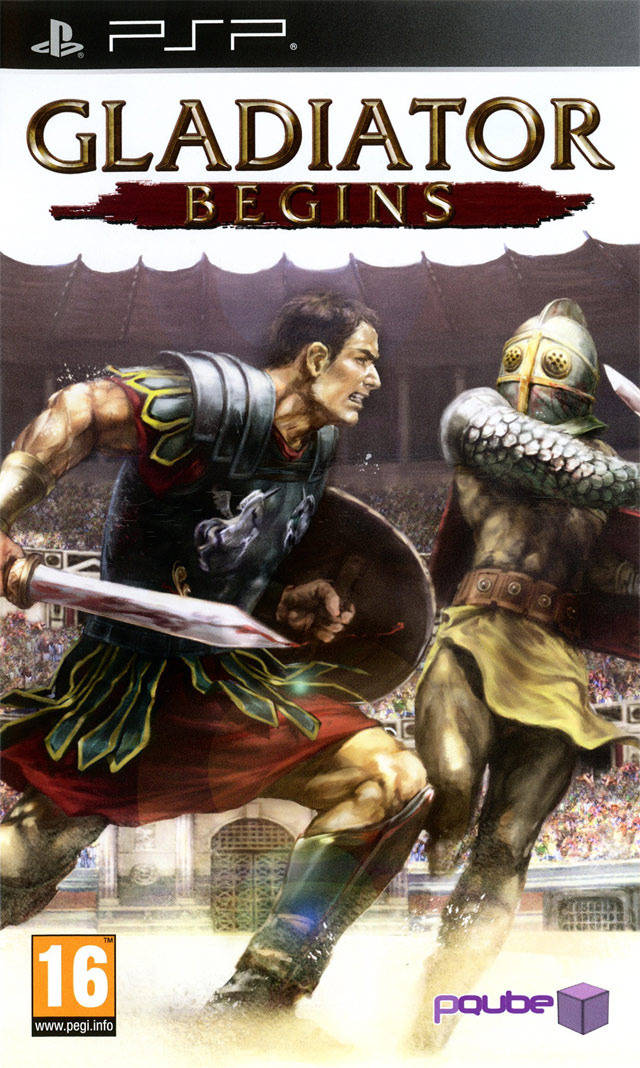 Gladiator Begins - PSP - ISO Download
