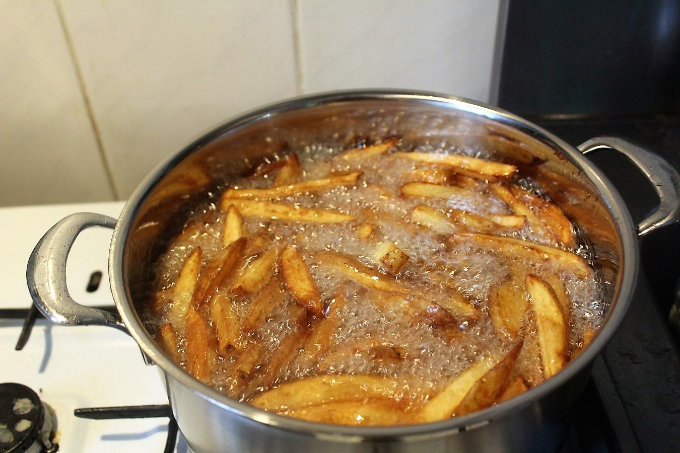Auf pommes sperma Kochen mit