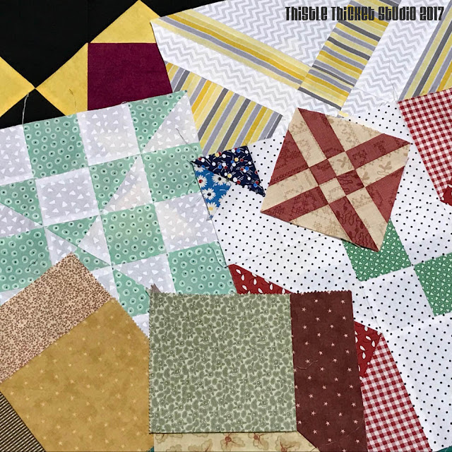 Orphan Quilt Blocks By Thistle Thicket Studio. www.thistlethicketstudio.com