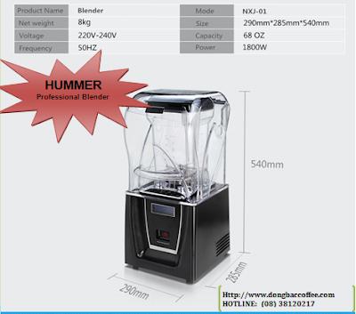 Chuyên Máy xay sinh tố công nghiệp Hummer - Hotline: 08 38120217 – 0902 789 161