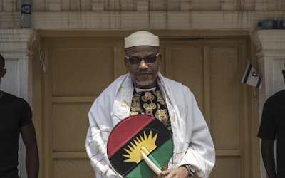 We Want Biafra Because Nigeria Is Not Functioning And Can Never Function- IPOB Leader, Nnamdi Kanu Says