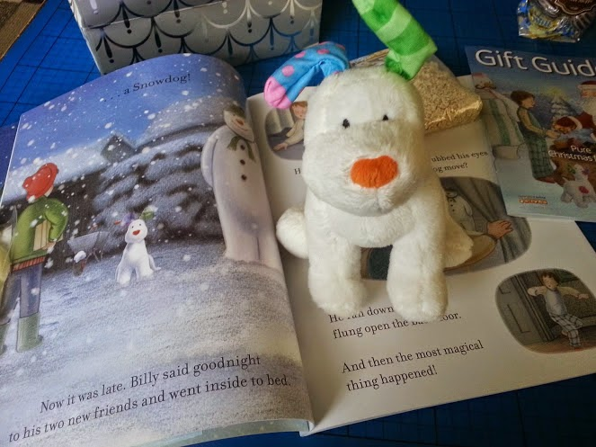 The Snowman And The Snowdog Soft Toy and Book with CD