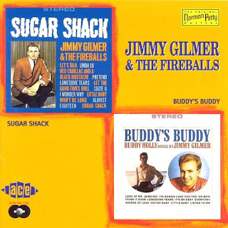 Jimmy Gilmer & The Fireballs - Sugar Shack on Sugar Shack / Buddy's Buddy (1963)