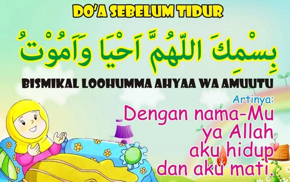 Ini Bacaan Doa Sebelum Tidur Dalam Islam Arti Terjemahannya