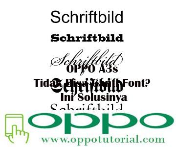 OPPO A3s Tidak Bisa Ganti Font