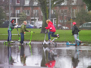 flooded skatepark puddle games