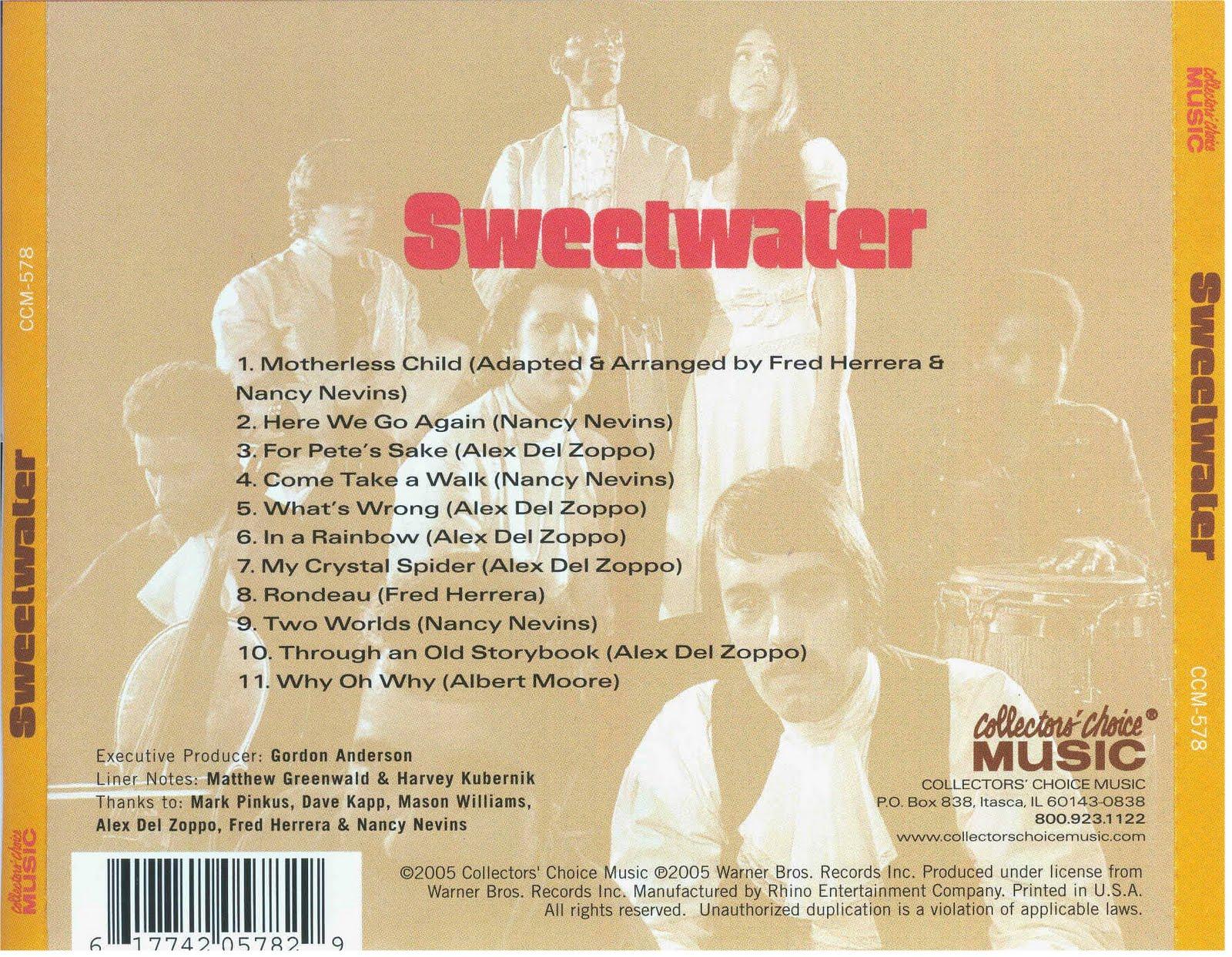 Las Galletas de Maria: Sweetwater- Sweetwater (1968)