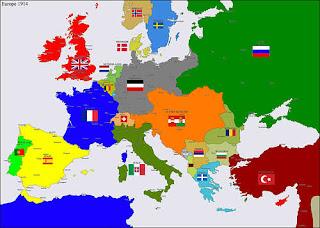 peta negara sebelum perang dunia