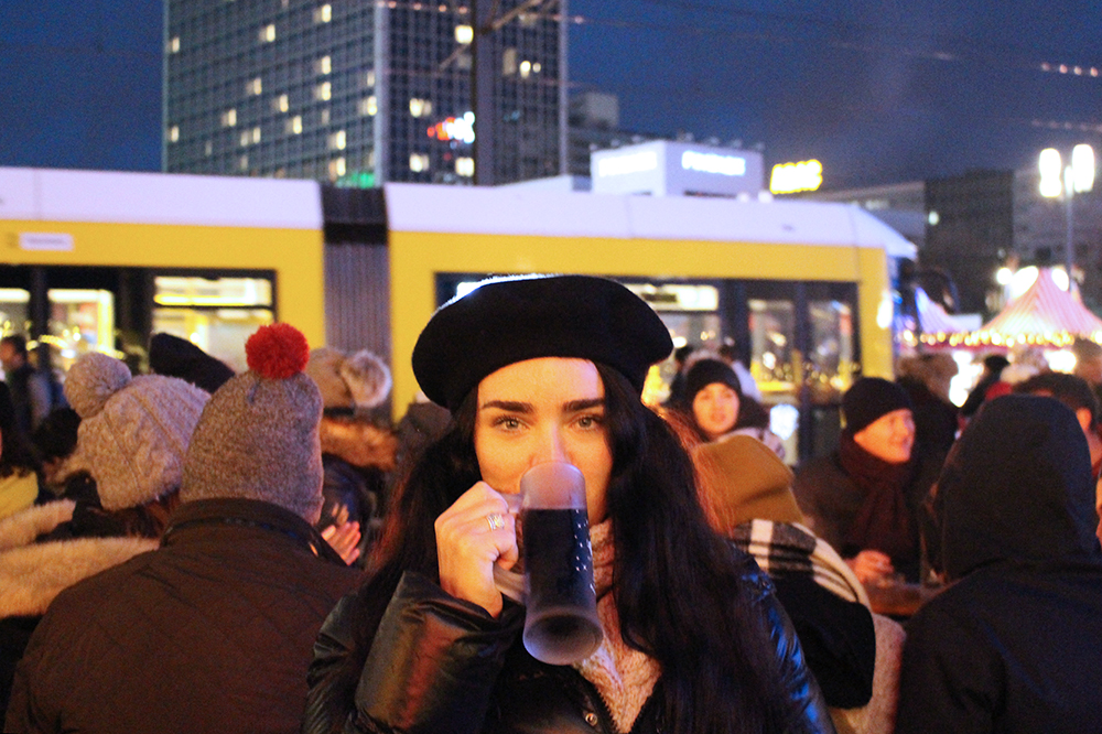 Gluhwein at the Berlin Christmas markets - travel & lifestyle blog