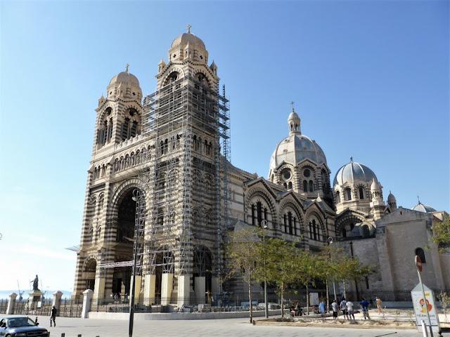 Marsella, Catedral Santa María la Mayor