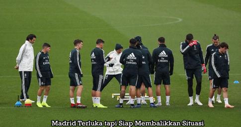 Madrid Terluka tapi Siap Membalikkan Situasi