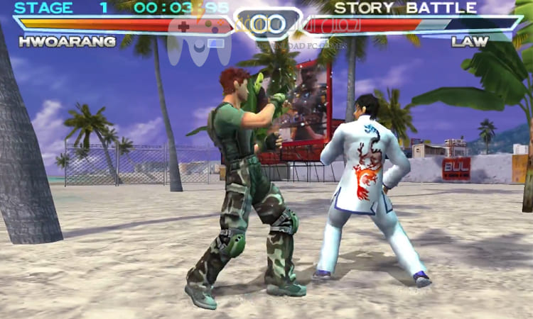 تحميل لعبة تيكن 4 Tekken