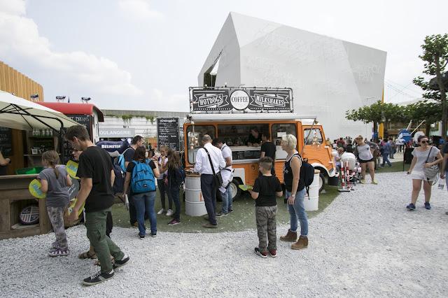 Food trucks-Expo 2015-Milano
