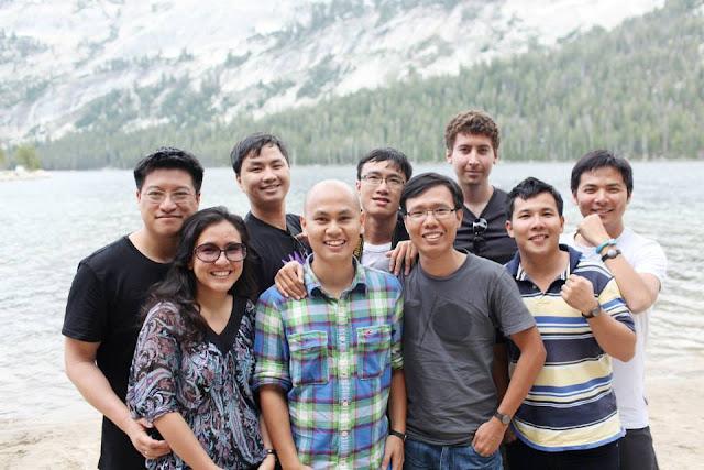 Kiều Trang cùng cộng sự tại thung lũng Silicon