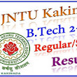JNTUK B.Tech 2-1 semester regular/supply results( R13,R07,R10) 2017