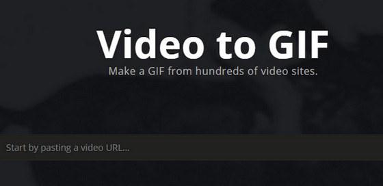 شرح تحويل الفيديو الى صورة متحركة GIF