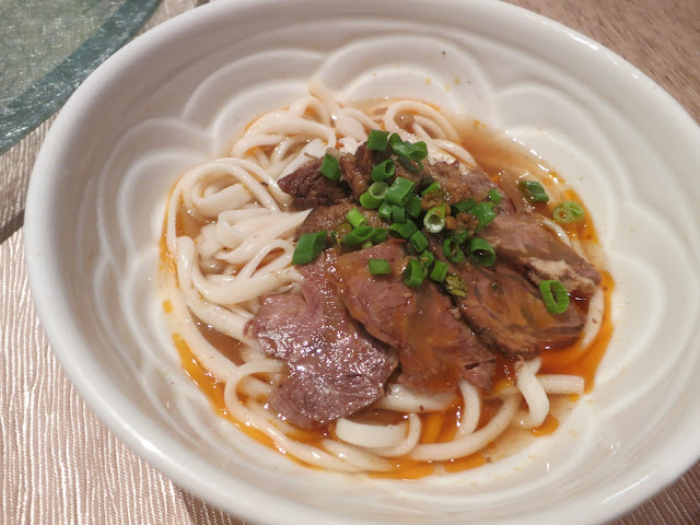 Homemade Noodle with Special Braised Beef