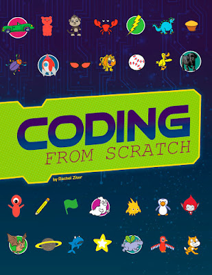 Coding From Scratch is a very thorough, step-by-step guide for using Scratch to code. The book has clear illustrations, pictures, and diagrams to help readers navigate Scratch and develop their coding skills. It walks kids through how to make their own games, how to use the drawing tools to make animations, creating presentations, using the sound tools, and more! If you're looking for a detailed guide to Scratch that dives in deep, then this is it! #CodingFromScratch #NetGalley #Coding