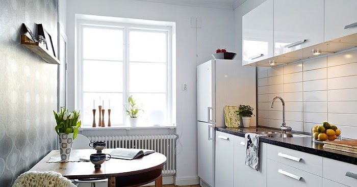 tips membuat dapur sempit menjadi lebih lega luas
