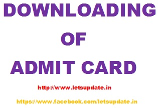 JKSSRB ADMIT CARD-GRADUATE LEVEL EXAM-LETSUPDATE